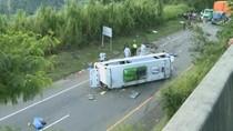 13 Nyawa Melayang Akibat Bus Terbalik di Kolombia