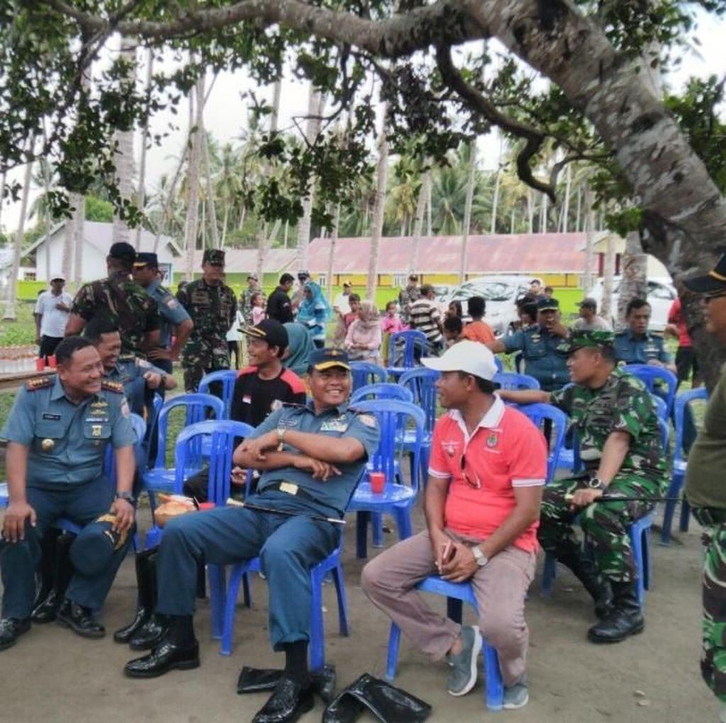 TNI AL Siapkan Lomba Mancing hingga Terjun Payung di Harnus 2018