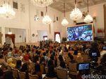 Jokowi Bahas Pentingnya Sosialisasi Pesan Positif di Konvensi Humas