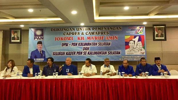 DPW PAN deklarasi dukung Jokowi