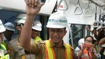 Anies Tinjau dan Launching Nama MRT Bundaran HI-Lebak Bulus