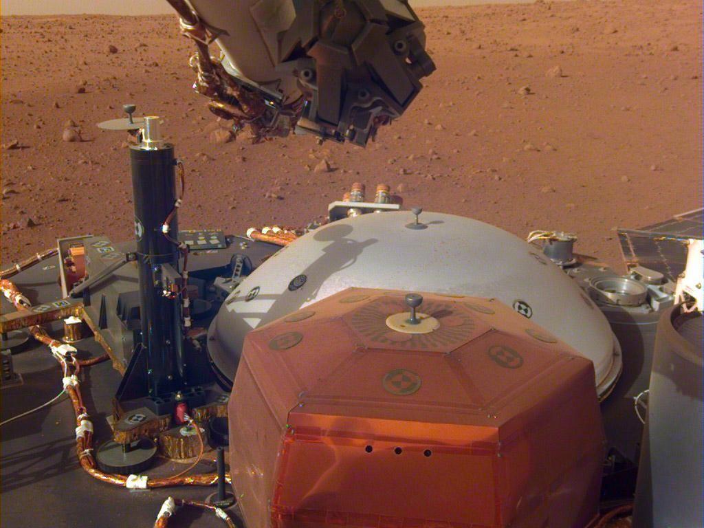 Video: Tangkapan Suara dari Mars yang Bikin Merinding