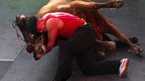 Gulat Banteng, Olahraga di China Menggabungkan Kung Fu dan Adu Banteng