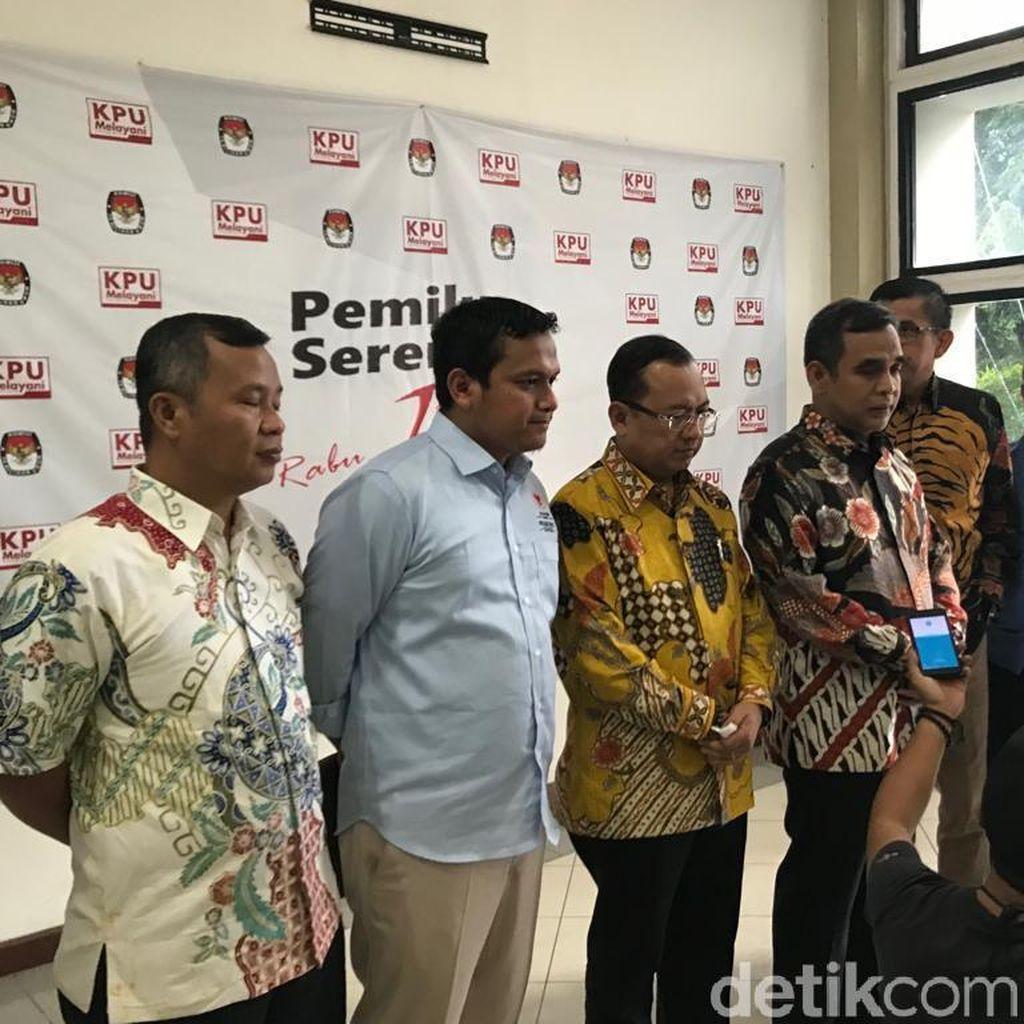 Temui KPU, Tim Prabowo Ingin Pastikan Warga Bisa Gunakan Hak Pilih