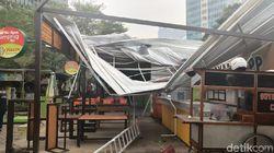 Fenomena Angin Kencang dari Bogor hingga Jakarta