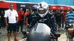 Ekspresi Desta Saat Jajal RC213V-S di Sentul