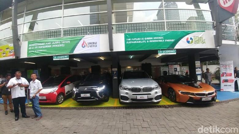 Mobil listrik Foto: Saifan Zaking-detikOto
