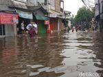 Banjir Setinggi 1 Meter, Kemang Utara Lumpuh