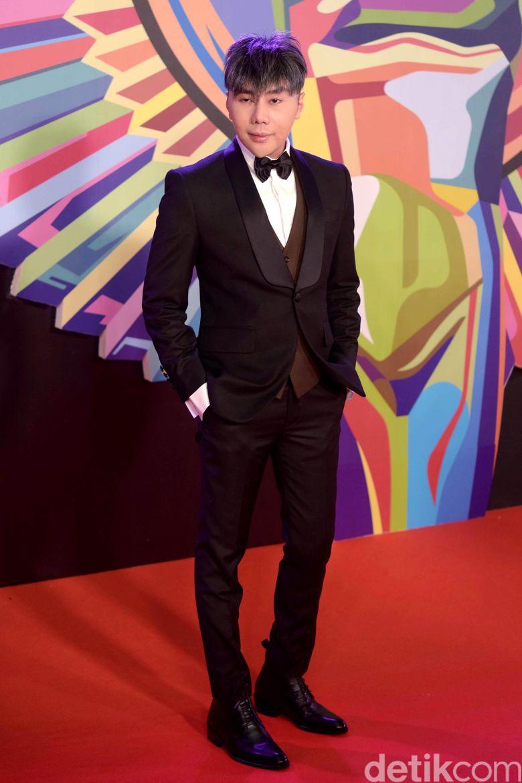 Roy Kiyoshi saat ditemui di Panasonic Gobel Awards di Djakarta Theatre, Jakarta Pusat pada akhir pekan lalu.Pool/Noel/detikFoto.