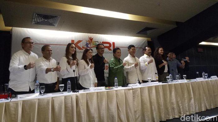 erick Thohir meminta semoga ada blueprint olahraga Indonesia. (Amalia Dwi Septi/detikSport)