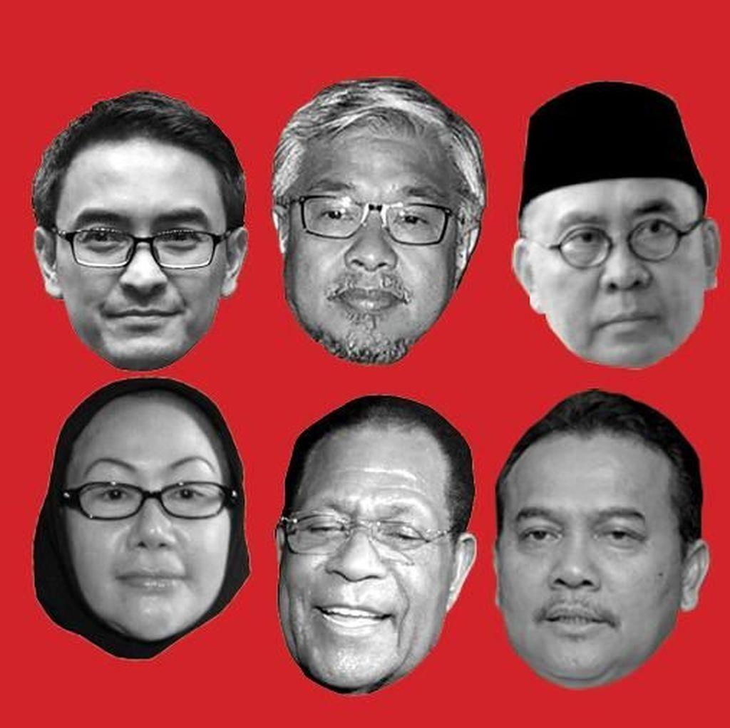 Selain Dipenjara, Hak Politik Enam Gubernur Dicabut