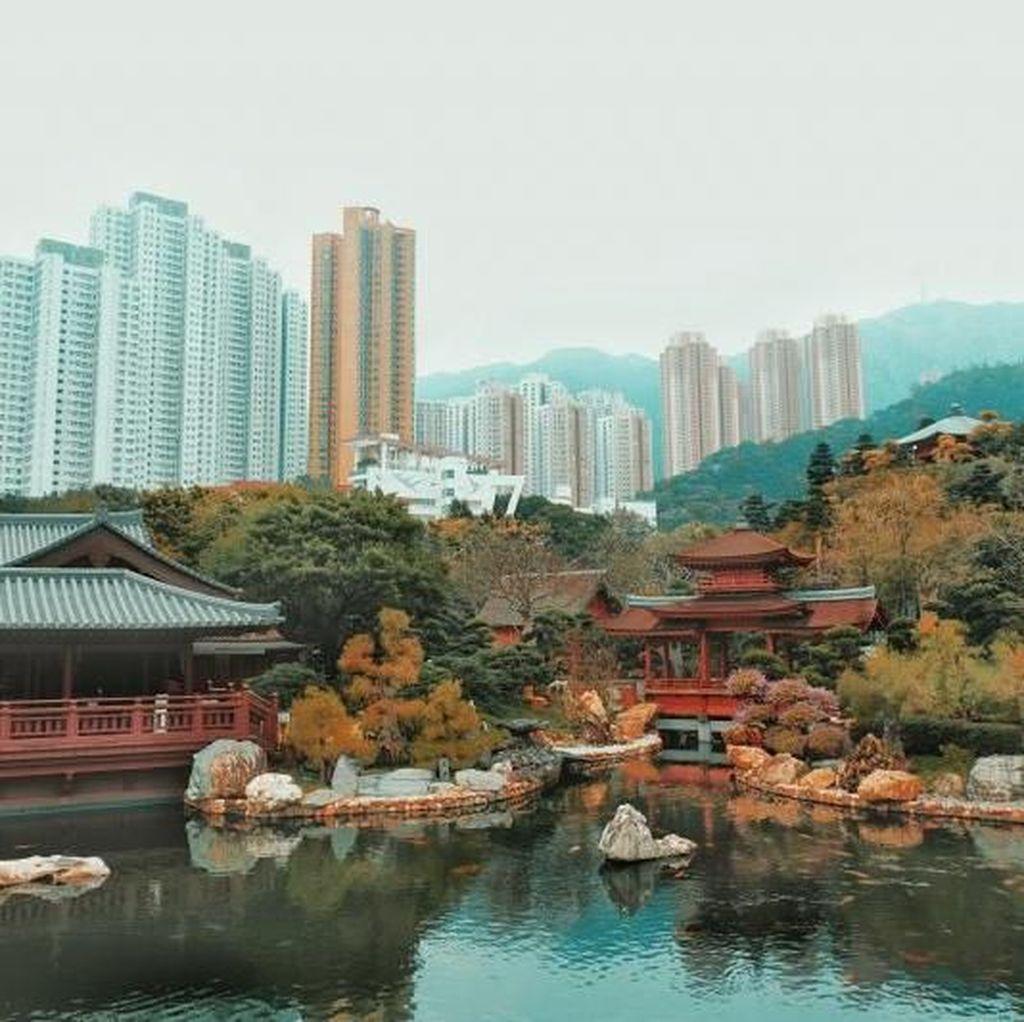 Taman Cantik di Tengah Hiruk Pikuk Hong Kong