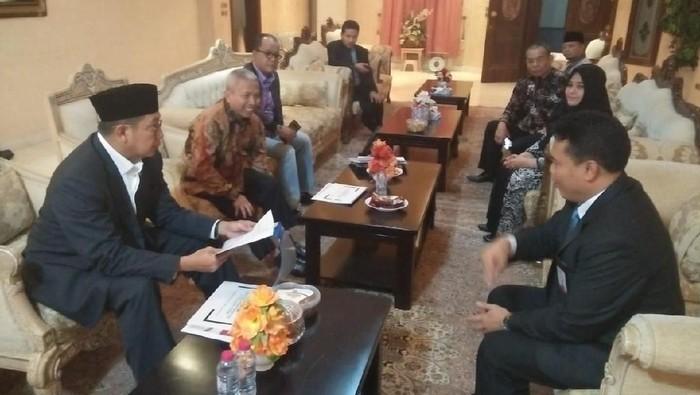 Foto: Menag Lukman Hakim Saifuddin bahas kesiapan haji 2019/Dok Kemenag