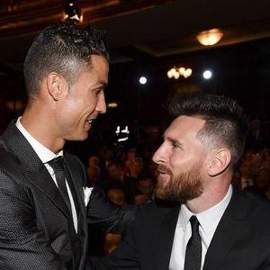 Viral Lionel Messi dan Cristiano Ronaldo Penjelajah Waktu