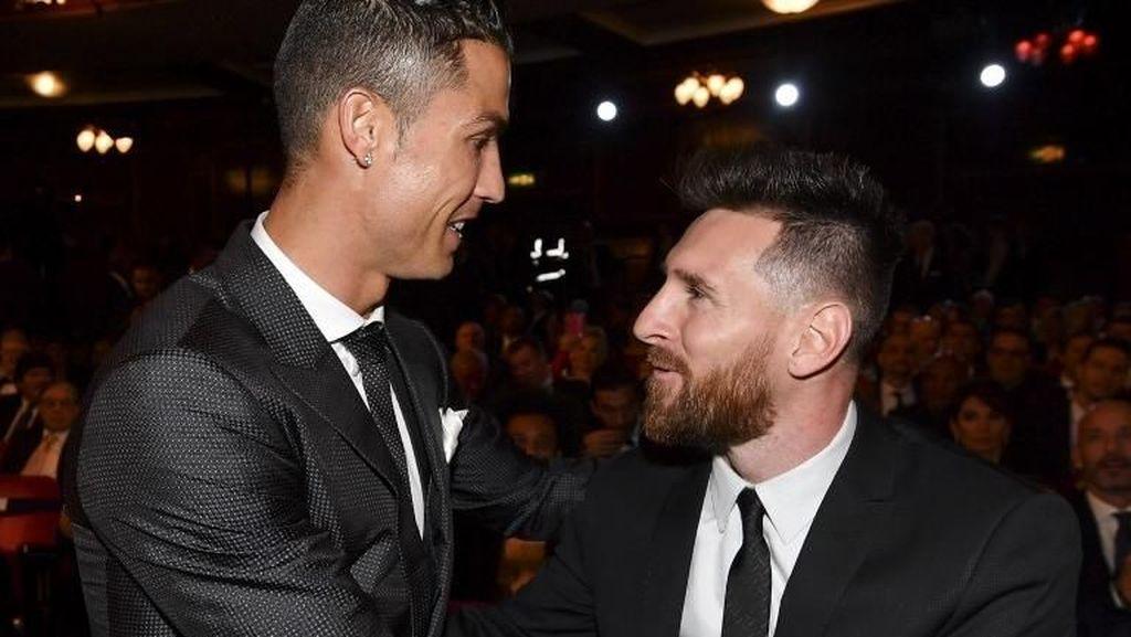 Tantangan Ronaldo pada Messi: Mainlah di Italia!