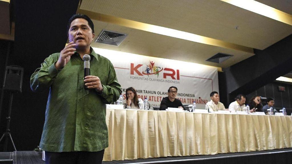 Erick Thohir Bersedia Kelola Liga Indonesia, tapi...