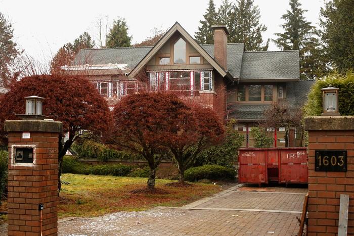Rumah Meng Wanzhou di Kanada. Foto: Reuters