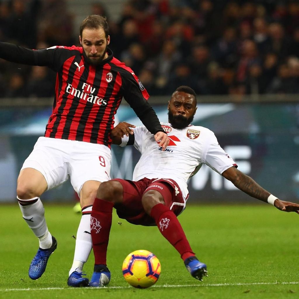 Hasil Liga Italia: AC Milan Diredam Torino Tanpa Gol