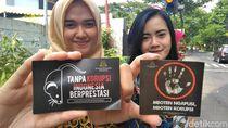 Warga Surabaya Diingatkan Jangan Korupsi Lewat Stiker