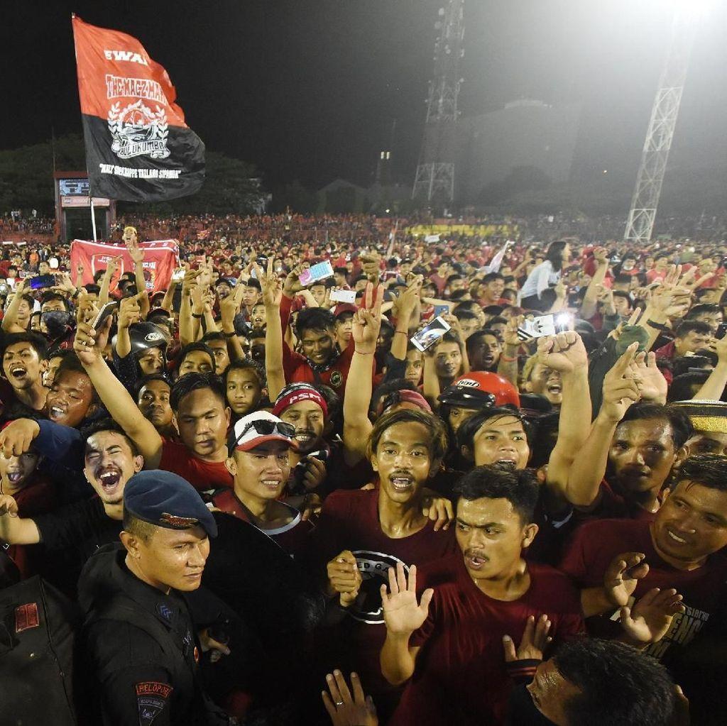 Gagal Juara, PSM Makassar Minta Maaf ke Masyarakat dan Suporter