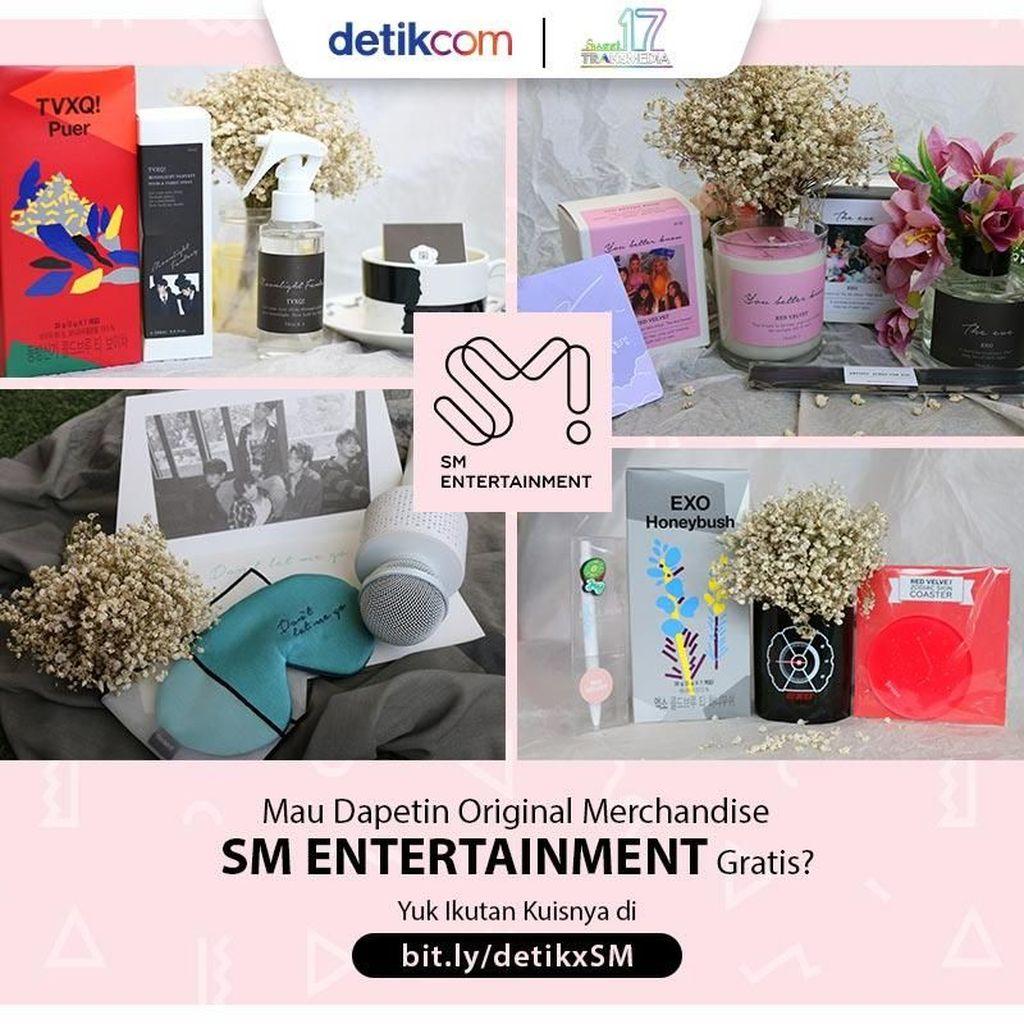 Selamat! Ini Dia Pemenang Original Merchandise dari SM Entertainment