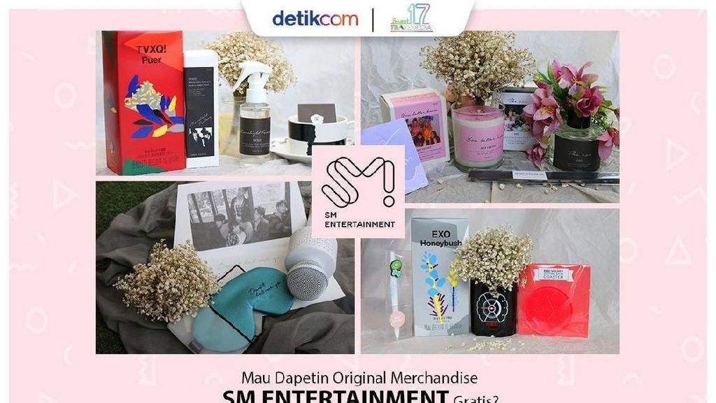 Ulang Tahun, detikcom Bagi-bagi Original Merchandise SM Entertainment, Nih!