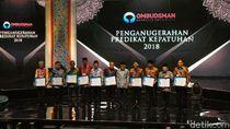 Kemenhan, LKPP, Provinsi Kepri Raih Penghargaan dari Ombudsman