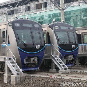 MRT Jakarta Mulai Uji Coba Angkut Penumpang di 24 Desember