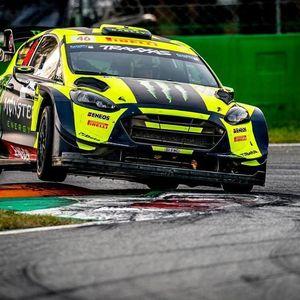 Aksi Valentino Rossi Jadi Juara di Reli Monza