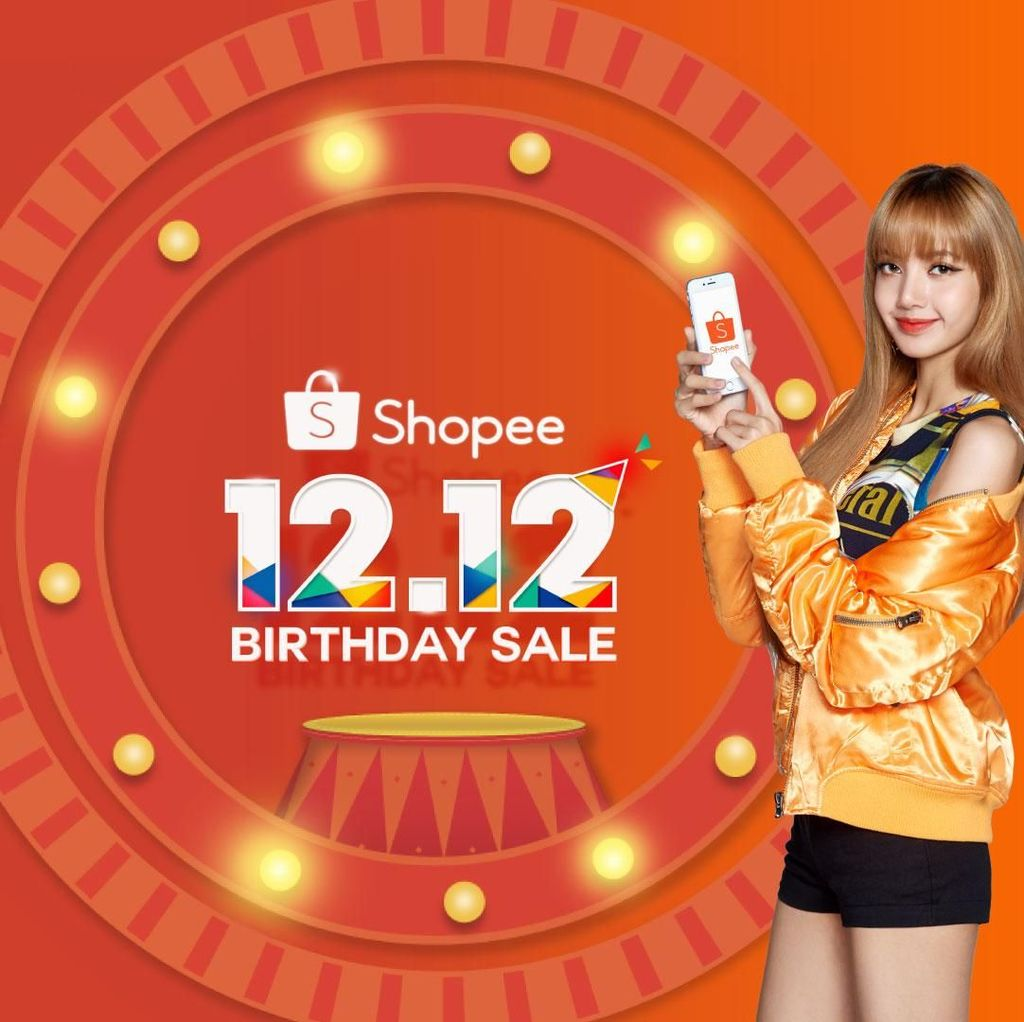 Shopee 12.12 Birthday Sale Hadirkan Segmen Spesial BLACKPINK