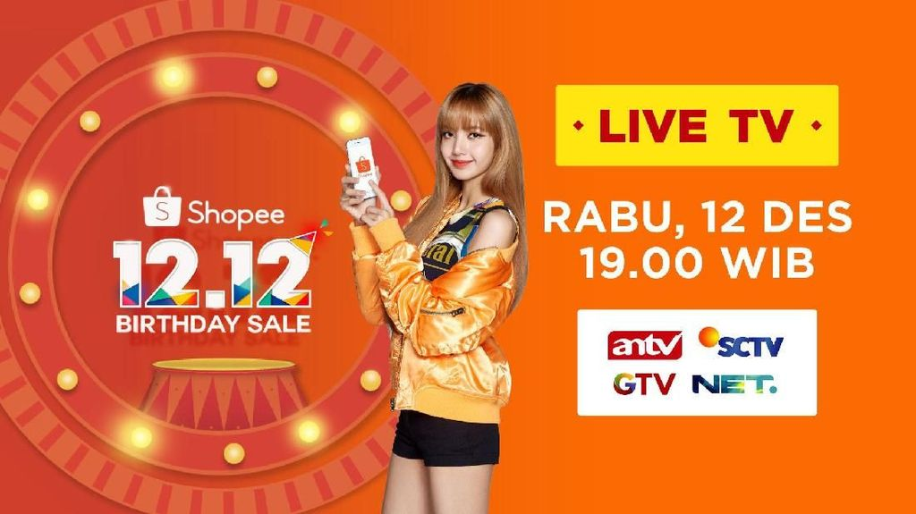 Segmen Spesial BLACKPINK Semarakkan Shopee 12.12 Birthday Sale