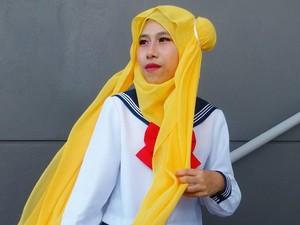 Deretan Cosplayer Hijab Ini Viral, Jadi Sailormoon Hingga Tinkerbell