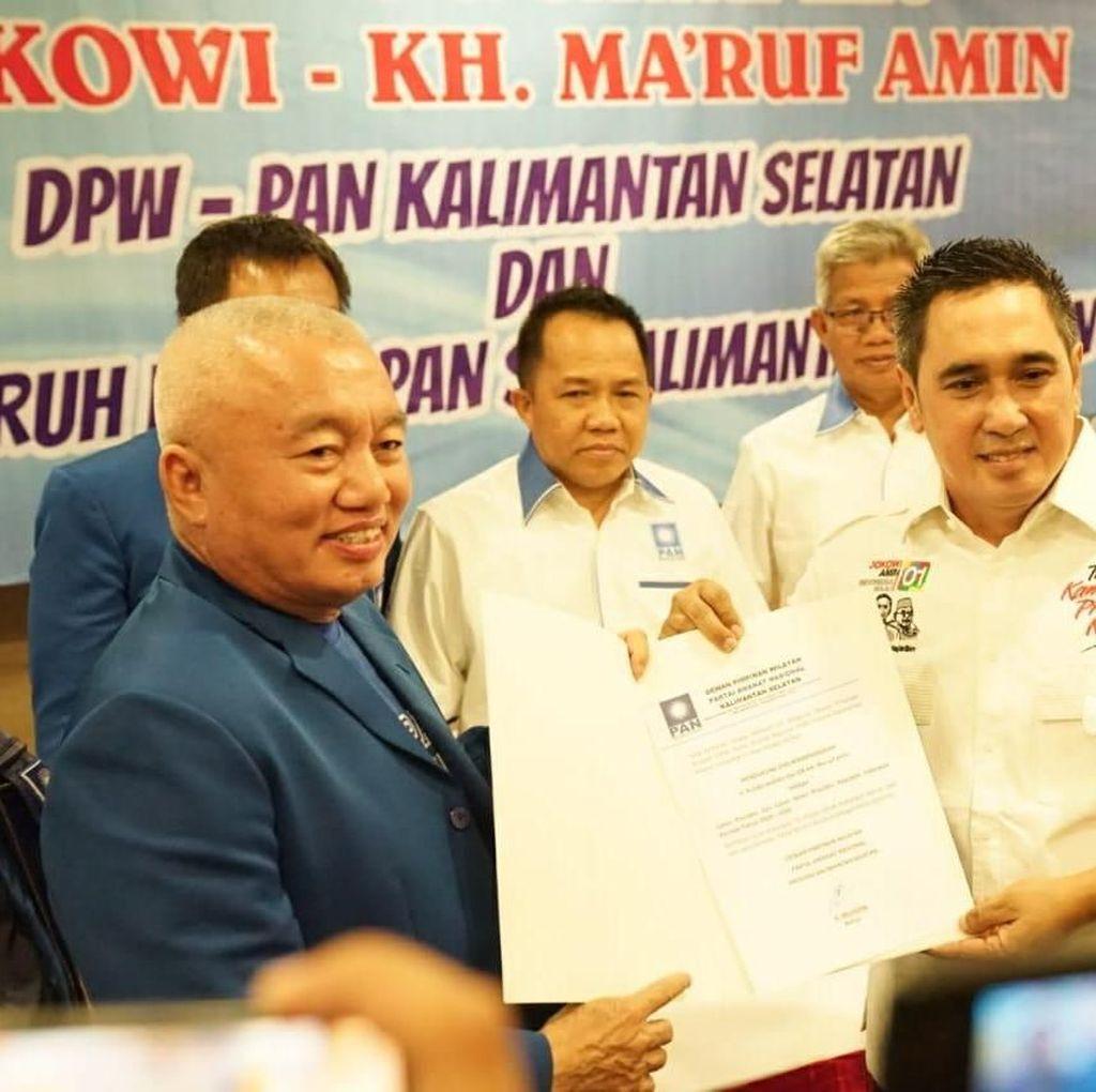 Ketua DPW PAN Kalsel Siap Dipecat karena Dukung Jokowi-Maruf Amin