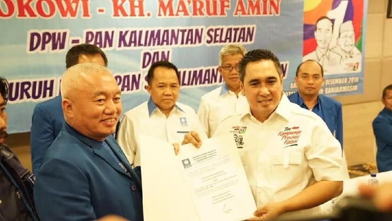 Soal Sikap Pengurus DPW, Elite PAN Sebut Jokowi Masih Kuat di Kalsel
