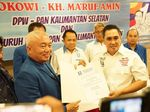 Beda Sikap Elite PAN soal DPW Kalsel Dukung Jokowi