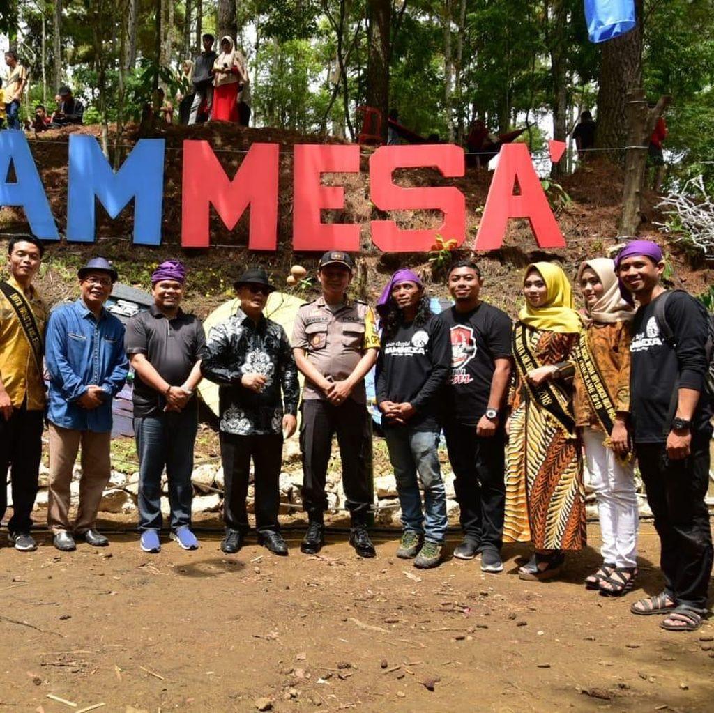 Pasar Mammesa, Destinasi Digital di Enrekang Resmi Dibuka