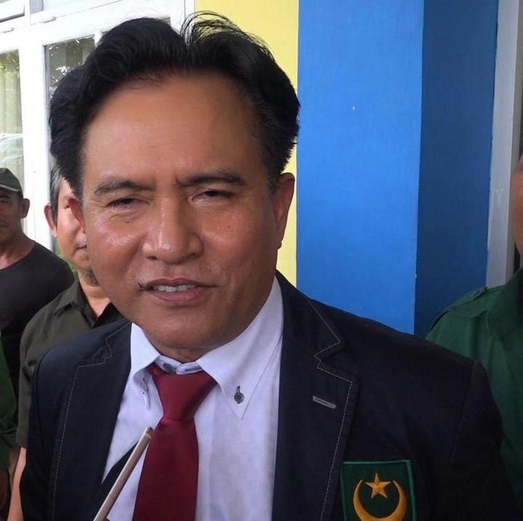 Hadiri Workshop Tim Jokowi, Yusril Usul Bentuk Tim Hukum Cyber