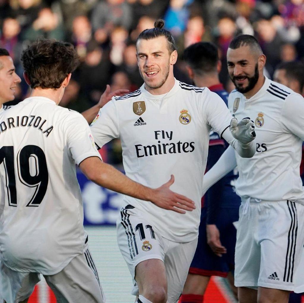 Hasil Liga Spanyol: Tundukkan Huesca, Madrid Kembali ke Empat Besar