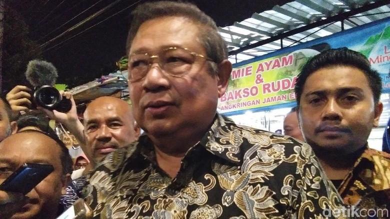 Bambang Yudhoyono (SBY) (Usman Hadi/detikcom)