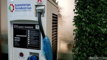 Baterai Motor Listrik Gesits Sudah Tersedia di SPBU Pertamina Ini