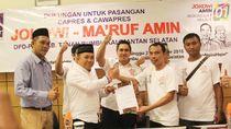 Bupati Tanah Bumbu Kader PAN Juga Deklarasi Dukung Jokowi
