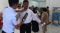 Tes CPNS Maluku, Peserta Diperiksa Metal Detector
