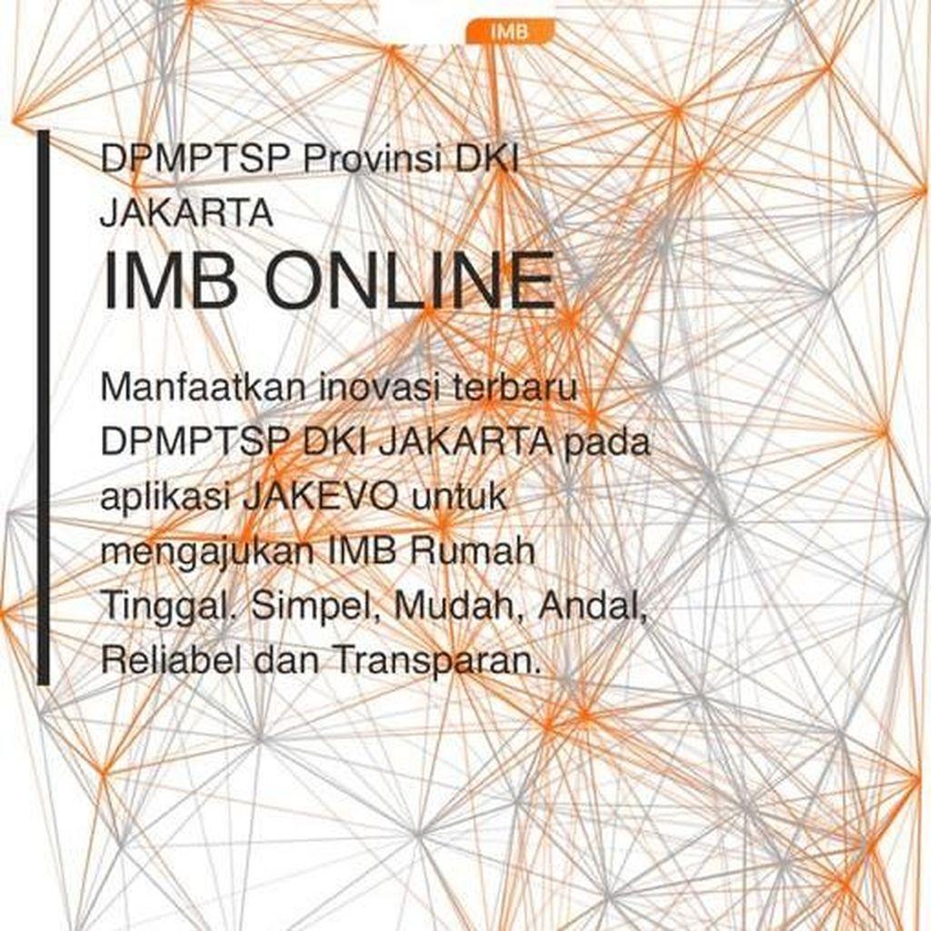 Pemprov DKI Luncurkan Layanan IMB Online