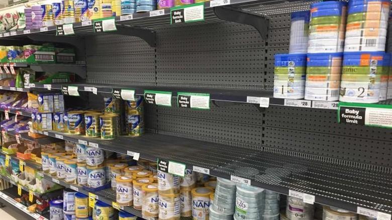 Semakin Marak Pembelian Susu Berlebihan di Australia Untuk Dikirim ke China