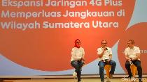4G Plus Indosat Ooredoo Selimuti Sumut
