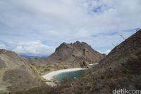 Salah satu sudut Pulau Padar (Shinta/detikTravel)