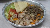 Gyro Chicken dan Beef Roasted Buat Makan Siang