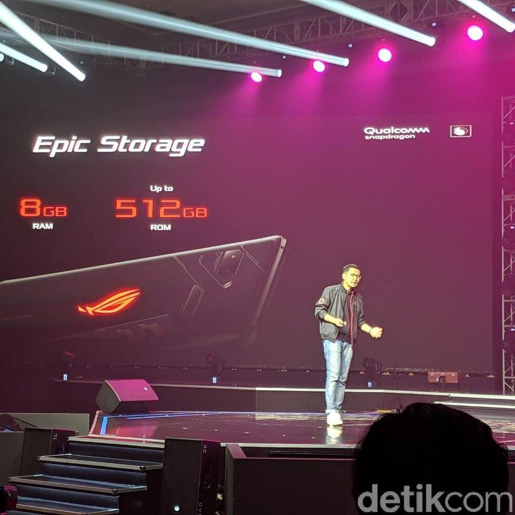 Harga dan Spek Asus ROG Phone, Si Gahar yang Baru Tiba di Indonesia