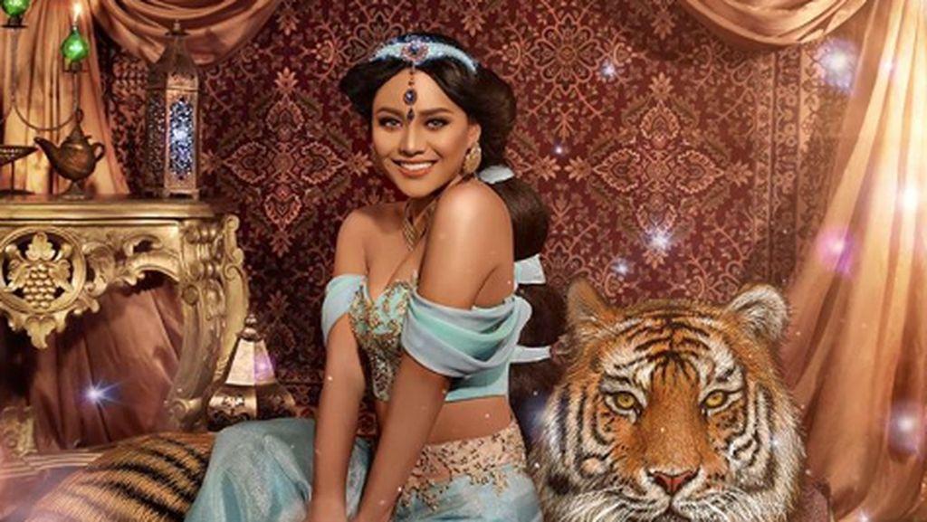 Inspirasi Makeup Ala Putri Jasmine dari Film Aladdin Sesuai Tren 2019