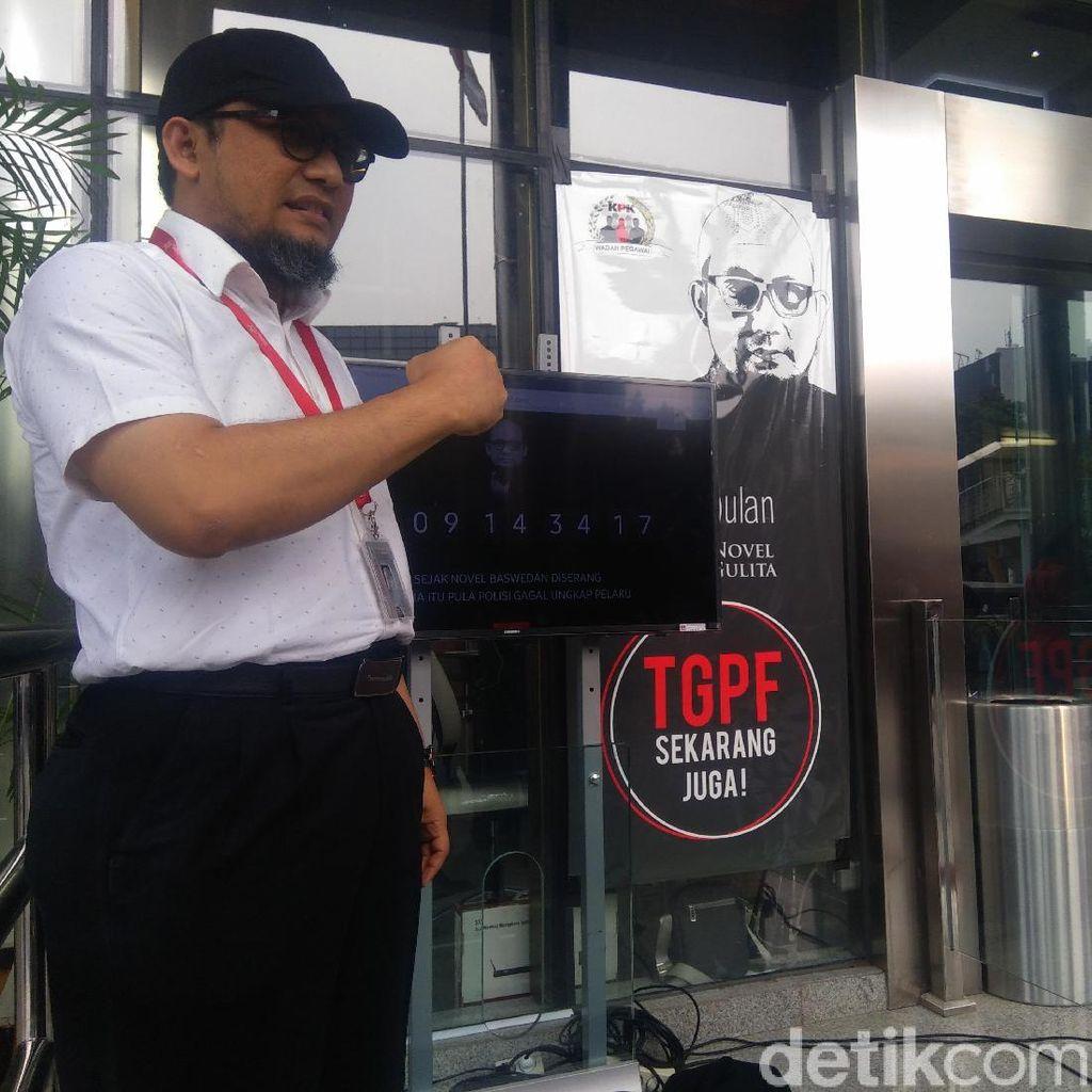 609 Hari Pascateror Novel, WP KPK Luncurkan Layar Hitung